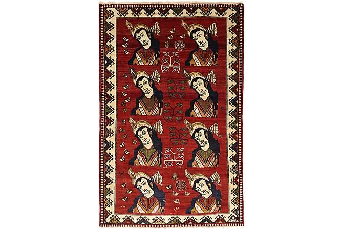 GHASHGHAI Orientalisk Matta 138x215 Persisk Röd - Inomhus - Mattor - Orientaliska mattor