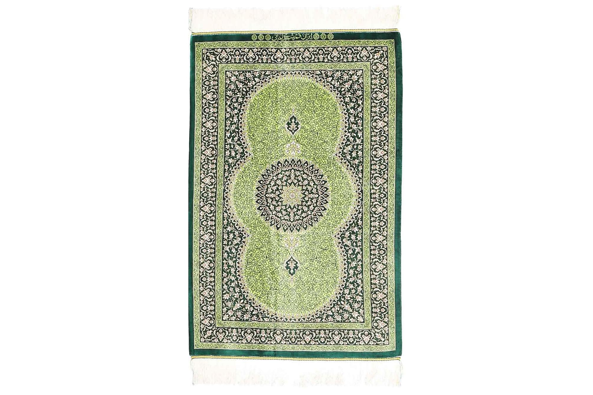 GHOM Orientalisk Matta 58×90 Grön