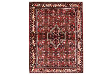 HAMADAN Orientalisk Matta 104x137 Persisk Röd