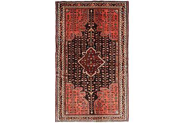 HAMADAN Orientalisk Matta 136x225 Persisk Orange/Röd