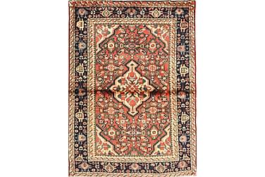 HOSSEINABAD Orientalisk Matta 107x150 Persisk Flerfärgad