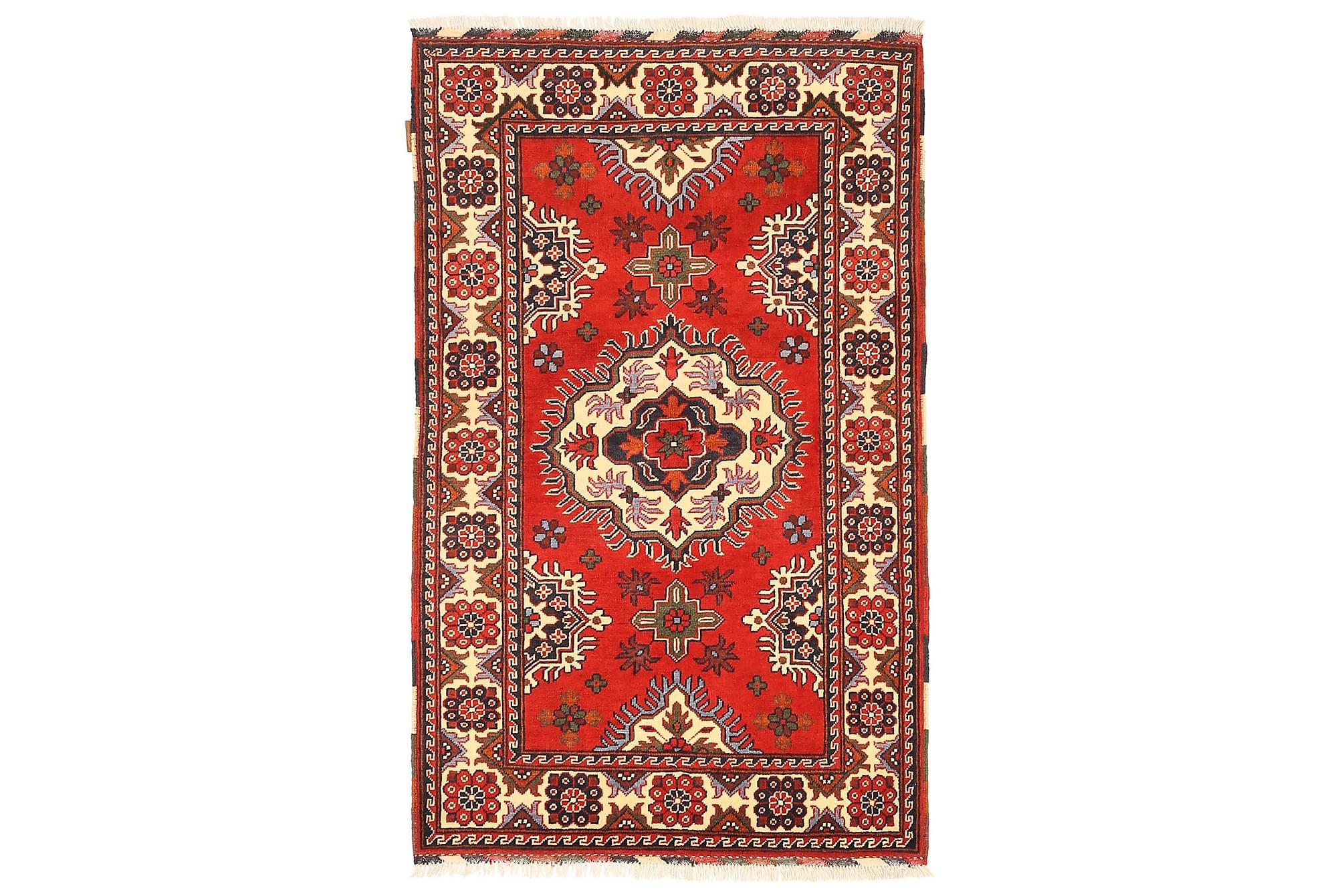 KAZAK Orientalisk Matta 101×166 Flerfärgad