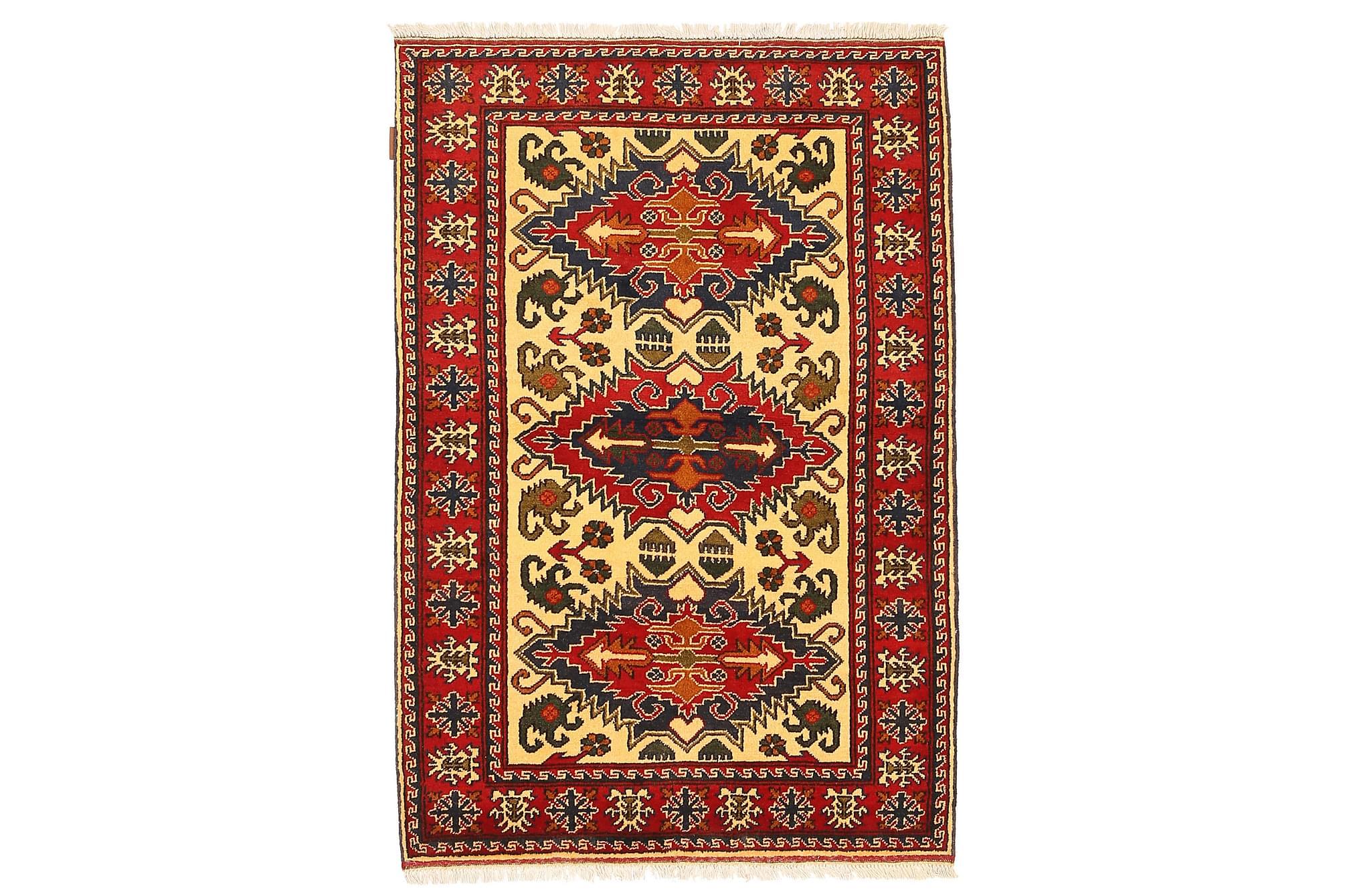 KAZAK Orientalisk Matta 106×159 Flerfärgad