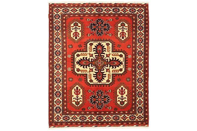 KAZAK Orientalisk Matta 155x191 Orange/Röd - Inomhus - Mattor - Orientaliska mattor