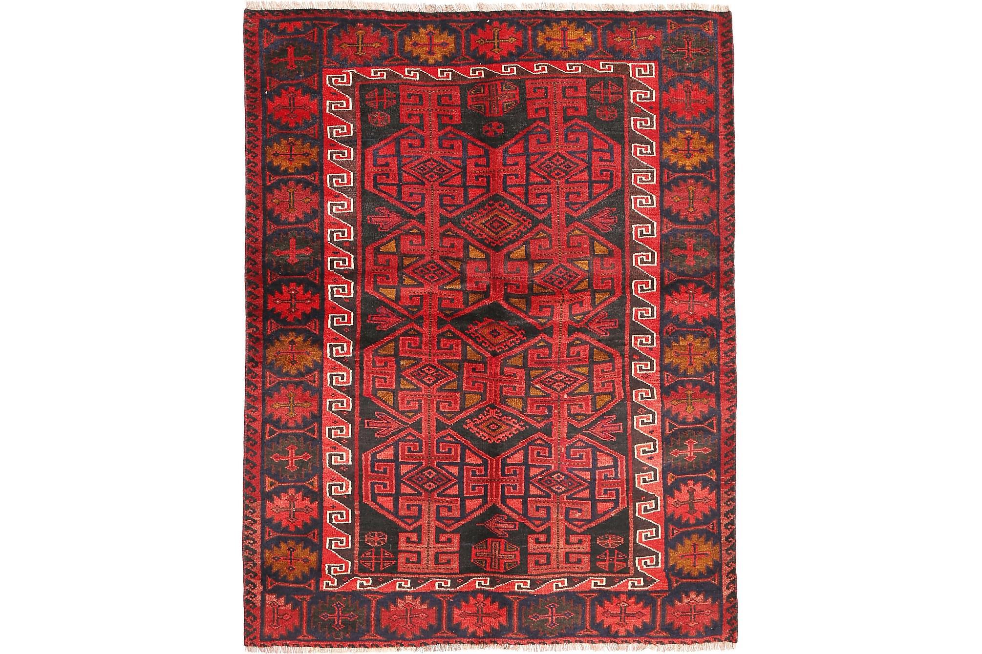 LORI Orientalisk Matta 156×206 Röd