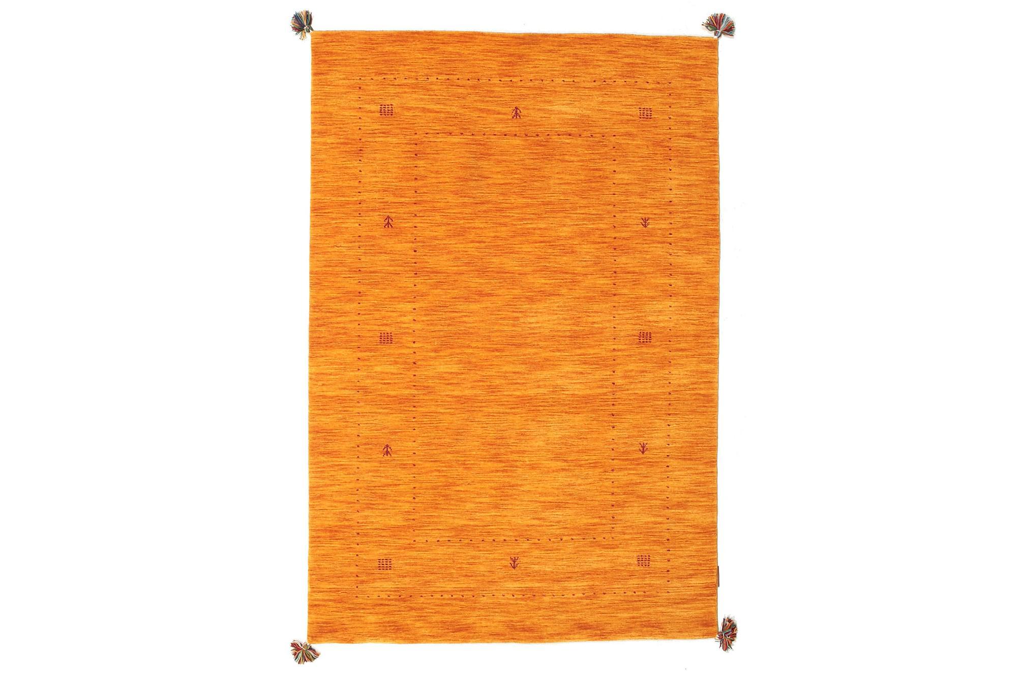 LORIBAF Orientalisk Matta 123×183 Orange