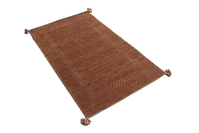 LORIBAF Orientalisk Matta 96x151 Brun - Inomhus - Mattor - Orientaliska mattor