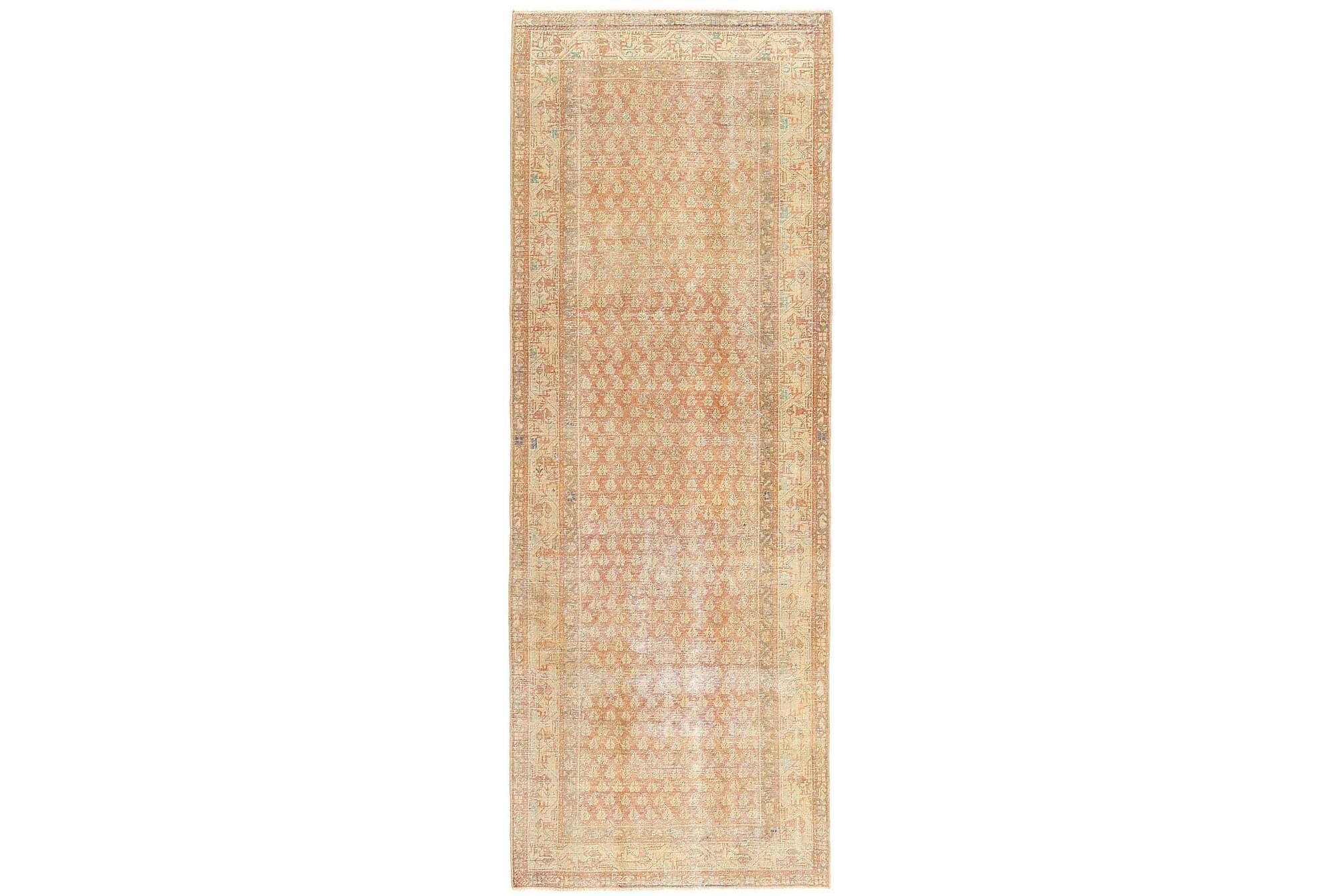 SAROUGH Orientalisk Matta 110×320 Patina Beige