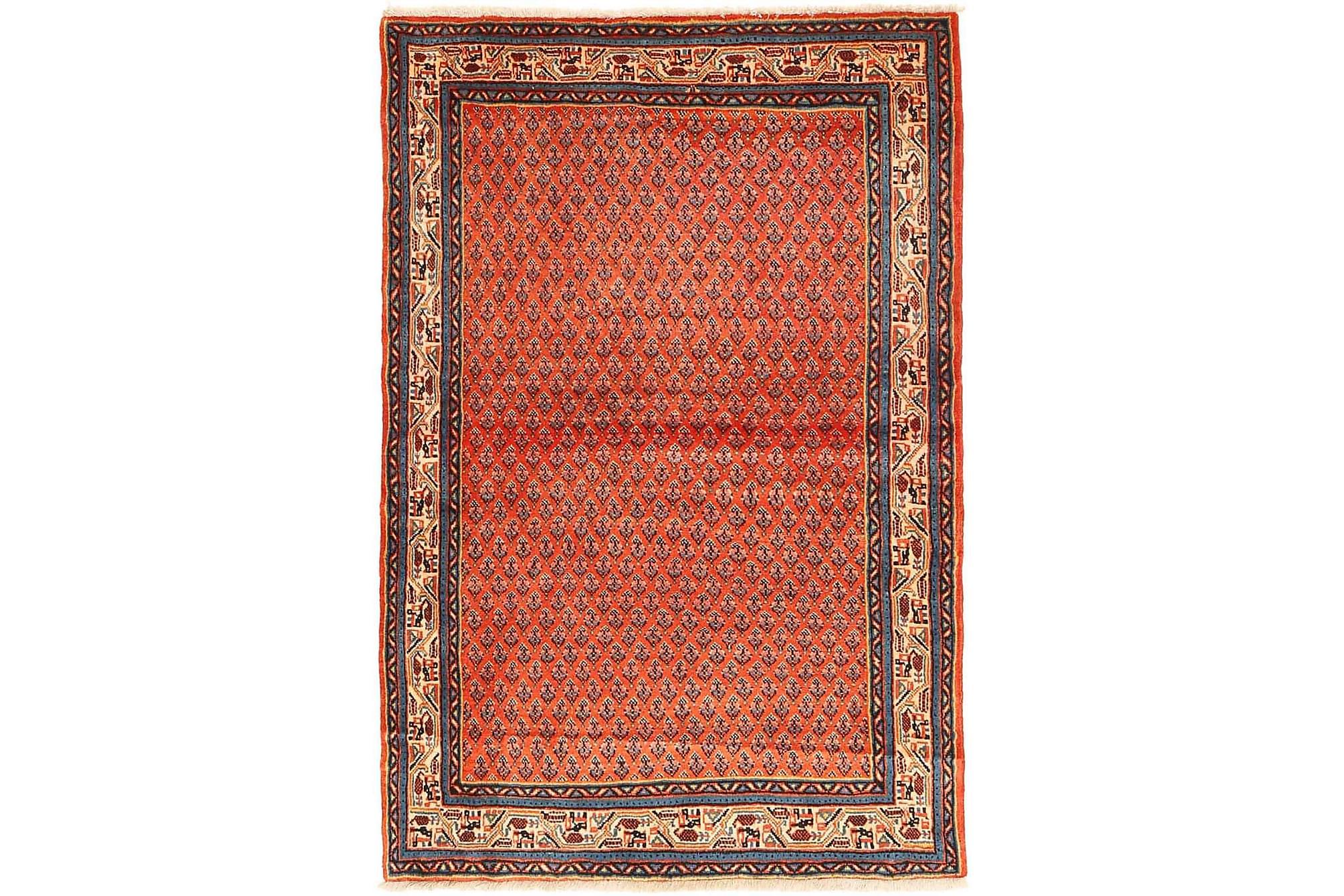 SAROUGH Orientalisk Matta 98×153 Orange