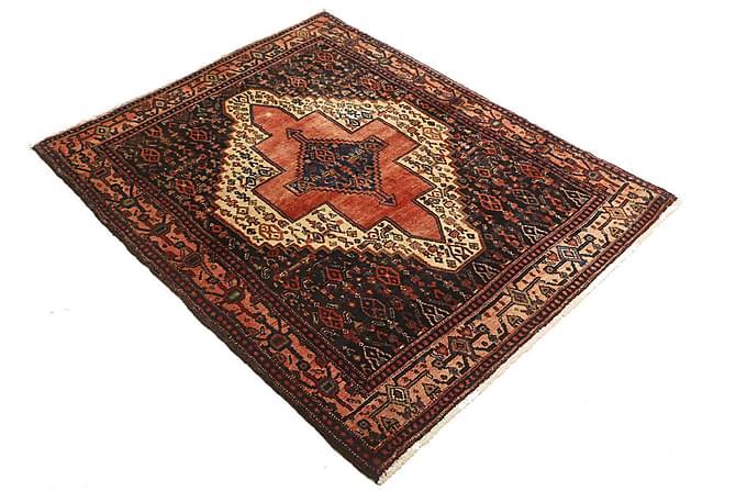 SENNEH Orientalisk Matta 115x144 Persisk Röd - Möbler & Inredning - Mattor - Orientaliska mattor