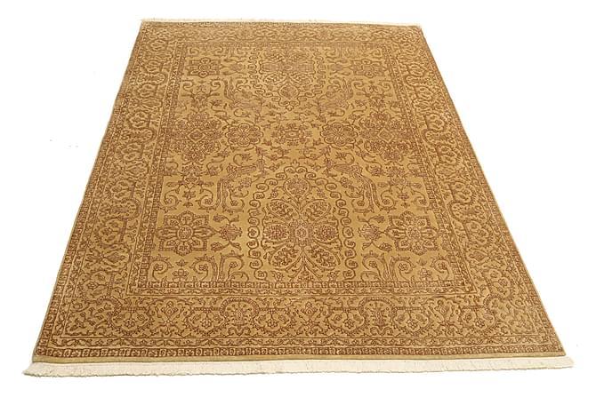 TABRIZ Orientalisk Matta 152x198 Beige/Brun - Möbler & Inredning - Mattor - Orientaliska mattor