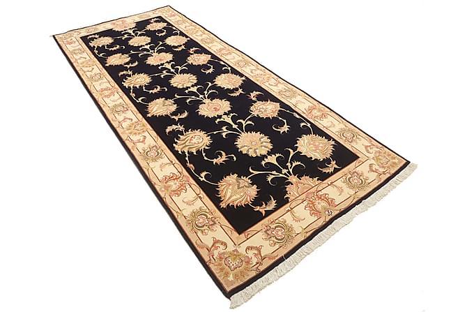 TABRIZ Orientalisk Silkesmatta 125x294 Beige/Brun - Möbler & Inredning - Mattor - Orientaliska mattor