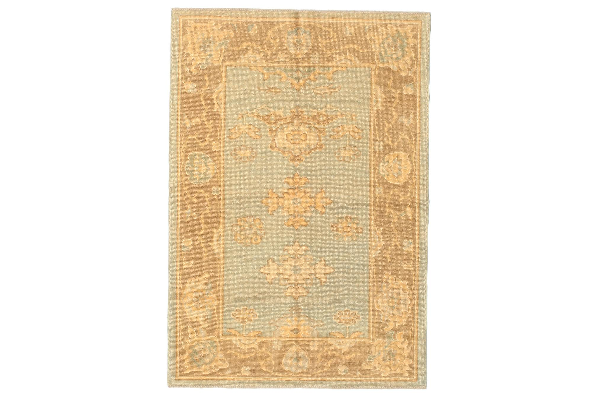 USAK Orientalisk Matta 107×155 Brun
