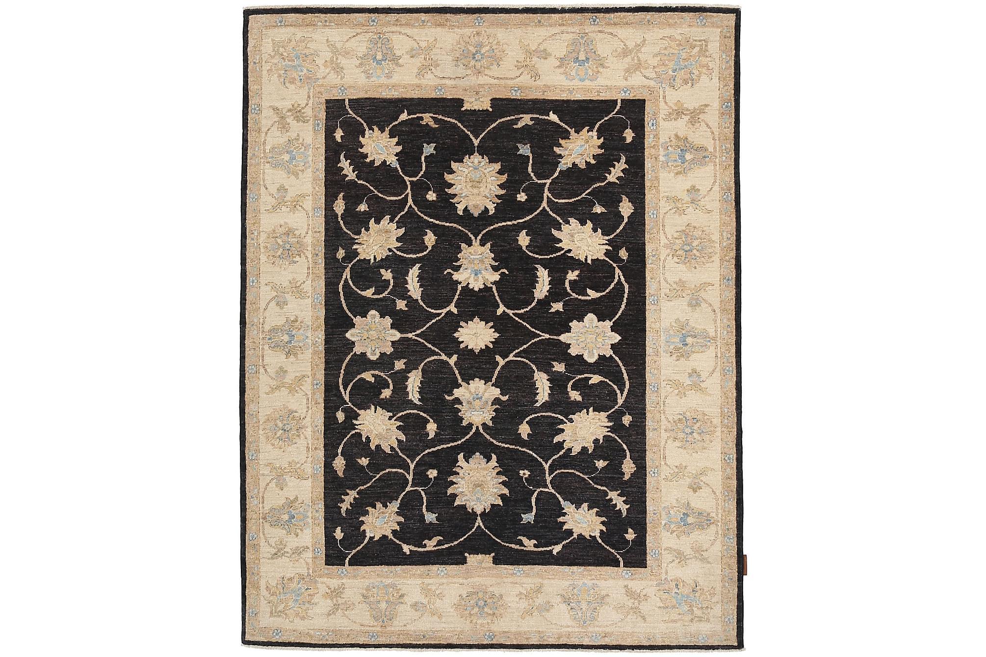 ZIEGLER Orientalisk Matta 149×194 Beige/Svart