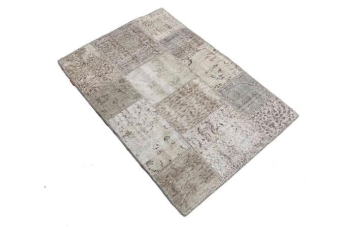 AGADIR Patchworkmatta 100x152 Modern Beige/Grå - Inomhus - Mattor - Patchwork mattor