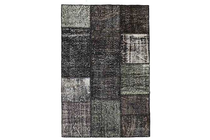 AGADIR Patchworkmatta 121x182 Modern Grå - Inomhus - Mattor - Patchwork mattor