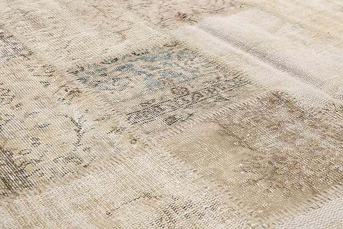 AGADIR Patchworkmatta 138x201 Modern Beige/Grå - Inomhus - Mattor - Patchwork mattor