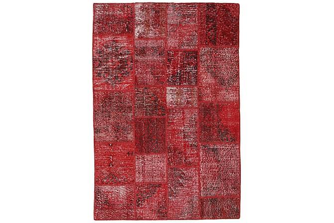 AGADIR Patchworkmatta 138x204 Modern Röd - Inomhus - Mattor - Patchwork mattor