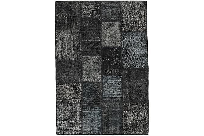 AGADIR Patchworkmatta 139x201 Modern Grå - Inomhus - Mattor - Patchwork mattor