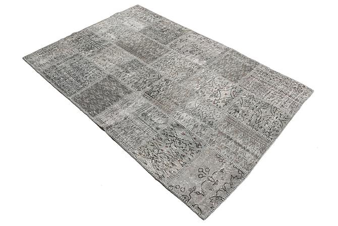 AGADIR Patchworkmatta 139x204 Modern Grå - Möbler & Inredning - Mattor - Patchwork mattor