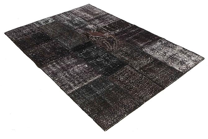 AGADIR Patchworkmatta 141x204 Modern Grå - Inomhus - Mattor - Patchwork mattor