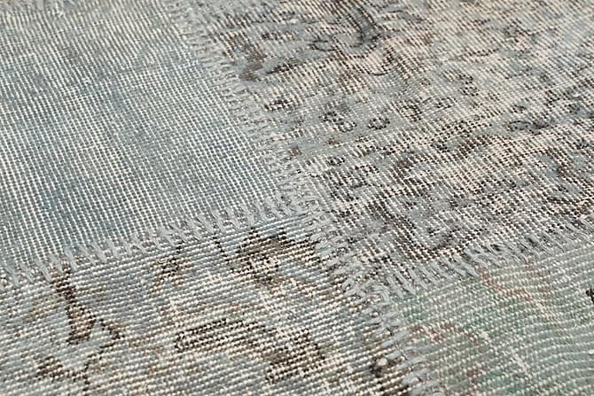 AGADIR Patchworkmatta 157x230 Modern Grå - Inomhus - Mattor - Patchwork mattor