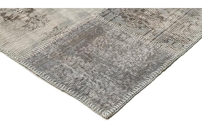 AGADIR Patchworkmatta 157x231 Modern Grå - Inomhus - Mattor - Patchwork mattor