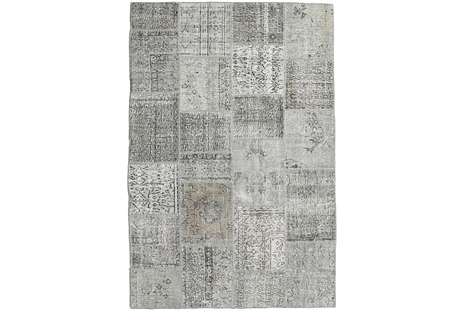 AGADIR Patchworkmatta 157x233 Modern Grå - Möbler & Inredning - Mattor - Patchwork mattor