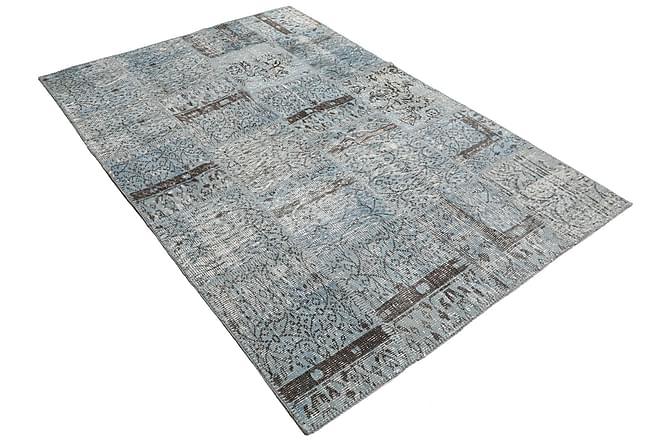 AGADIR Patchworkmatta 158x229 Modern Grå - Möbler & Inredning - Mattor - Patchwork mattor