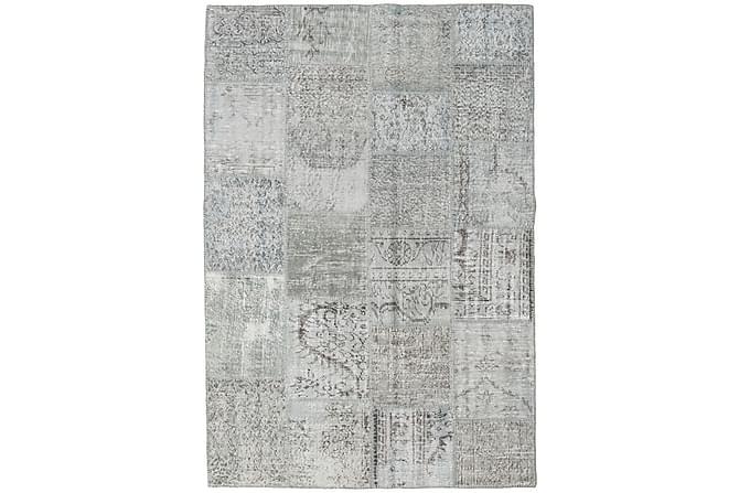 AGADIR Patchworkmatta 158x231 Modern Grå - Inomhus - Mattor - Patchwork mattor