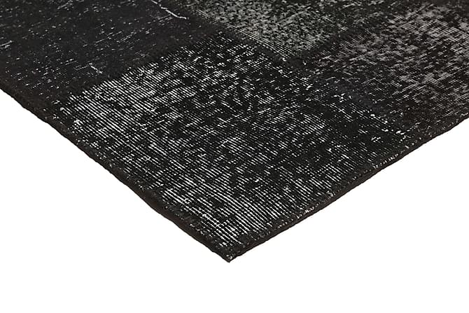 AGADIR Patchworkmatta 159x231 Modern Grå - Möbler & Inredning - Mattor - Patchwork mattor
