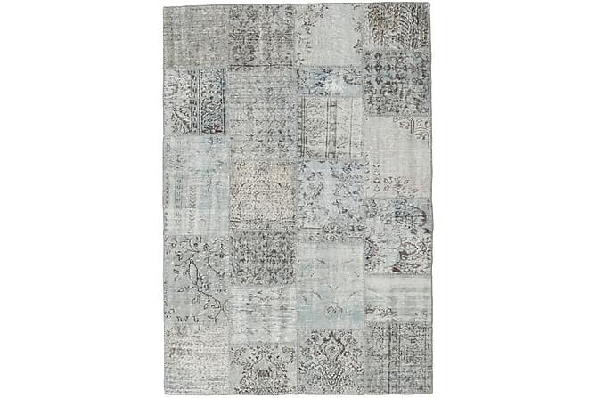 AGADIR Patchworkmatta 159x232 Modern Grå - Inomhus - Mattor - Patchwork mattor