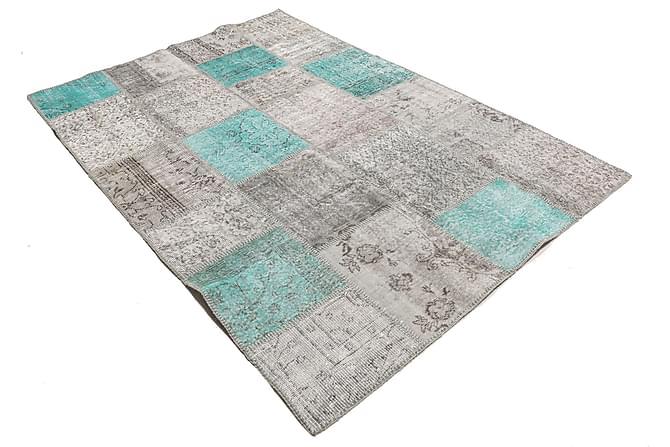 AGADIR Patchworkmatta 159x233 Modern Flerfärgad - Möbler & Inredning - Mattor - Patchwork mattor