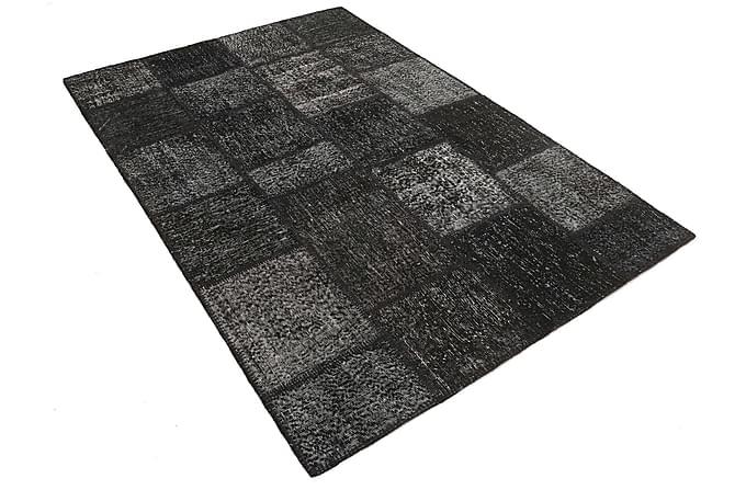 AGADIR Patchworkmatta 160x231 Stor Modern Grå - Möbler & Inredning - Mattor - Patchwork mattor