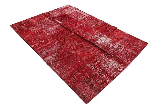 AGADIR Patchworkmatta 161x233 Stor Modern Röd - Inomhus - Mattor - Patchwork mattor