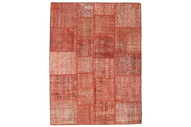 AGADIR Patchworkmatta 171x230 Stor Modern Röd - Inomhus - Mattor - Patchwork mattor
