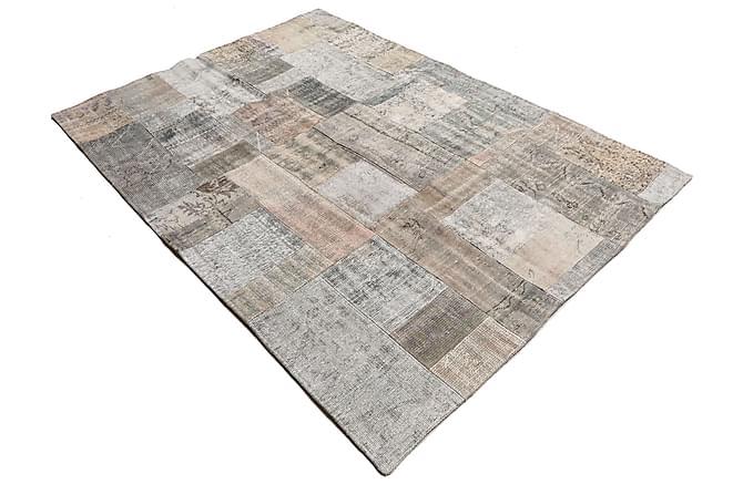 AGADIR Patchworkmatta 173x241 Stor Modern Flerfärgad - Möbler & Inredning - Mattor - Patchwork mattor