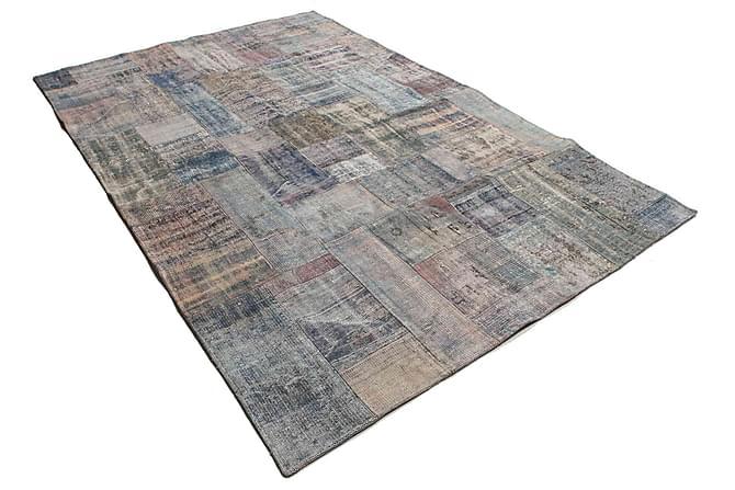AGADIR Patchworkmatta 203x302 Stor Modern Flerfärgad - Möbler & Inredning - Mattor - Patchwork mattor