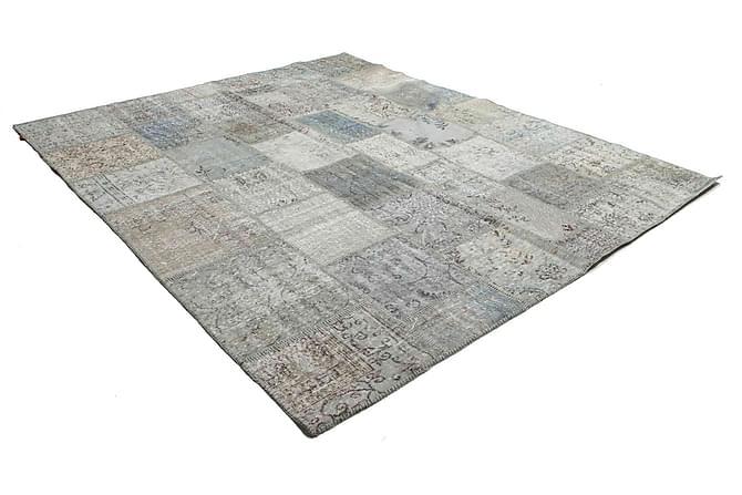 AGADIR Patchworkmatta 252x302 Stor Modern Beige/Grå - Inomhus - Mattor - Patchwork mattor