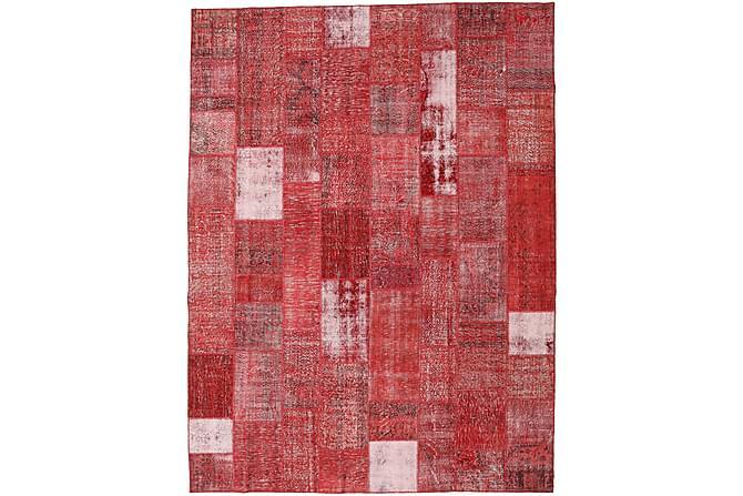 AGADIR Patchworkmatta 303x403 Stor Modern Röd - Möbler & Inredning - Mattor - Patchwork mattor
