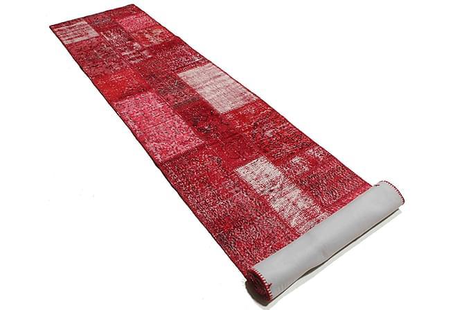AGADIR Patchworkmatta 81x408 Stor Modern Röd - Möbler & Inredning - Mattor - Patchwork mattor