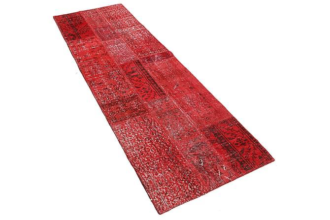 AGADIR Patchworkmatta 82x248 Stor Modern Röd - Möbler & Inredning - Mattor - Patchwork mattor