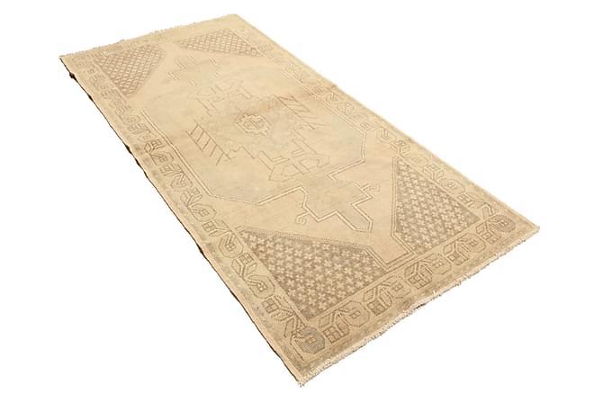 COLORED VINTAGE Patchworkmatta 117x242 Beige/Brun - Möbler & Inredning - Mattor - Patchwork mattor