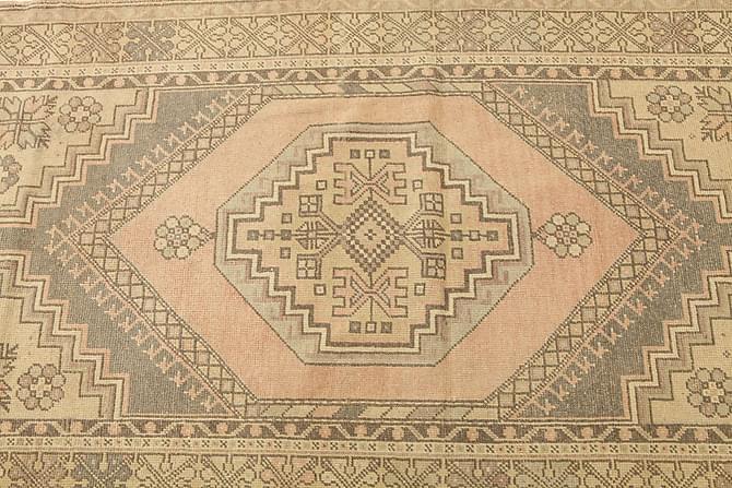 COLORED VINTAGE Patchworkmatta 120x213 Brun - Inomhus - Mattor - Patchwork mattor