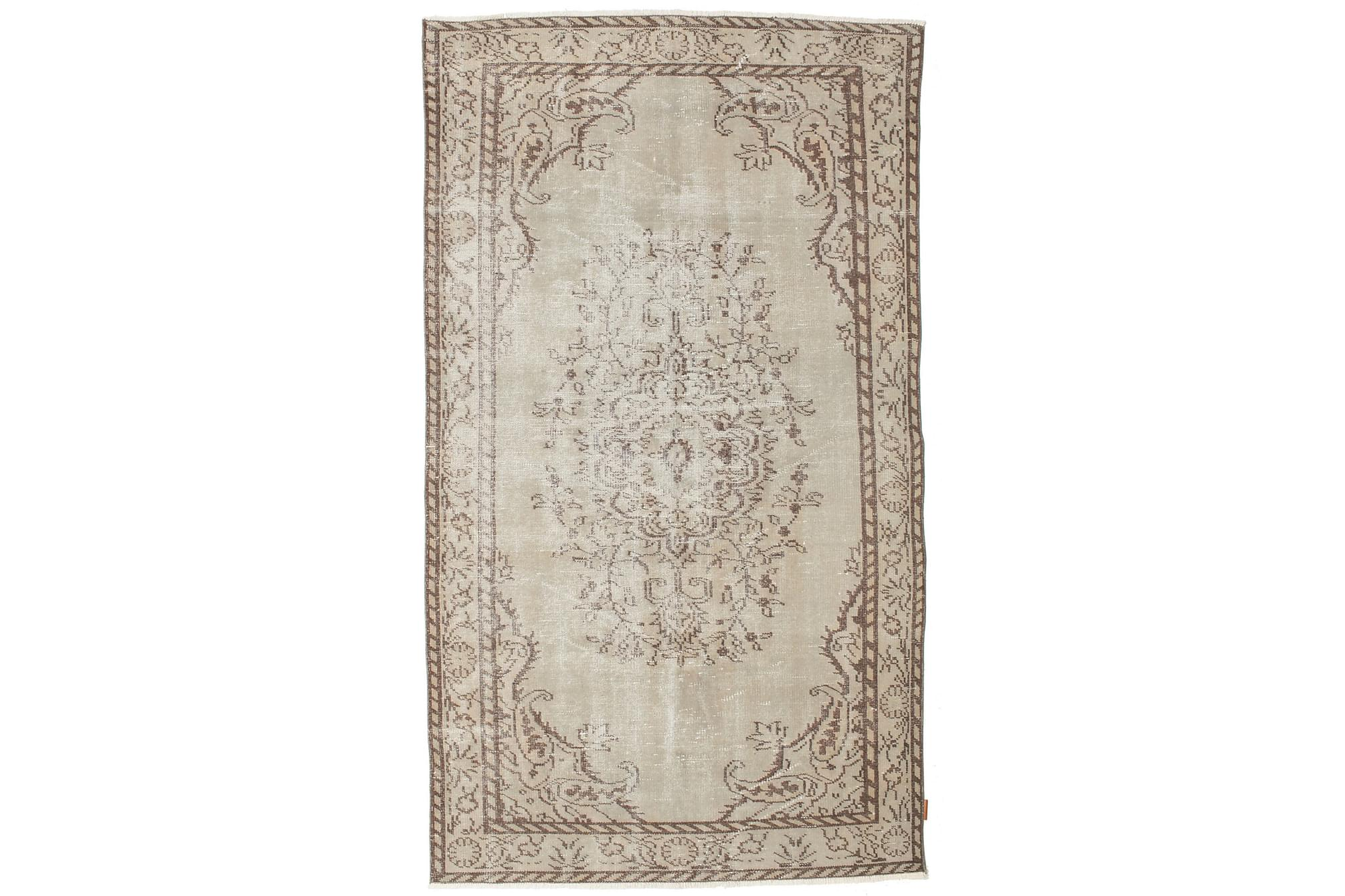 COLORED VINTAGE Patchworkmatta 153×267 Beige