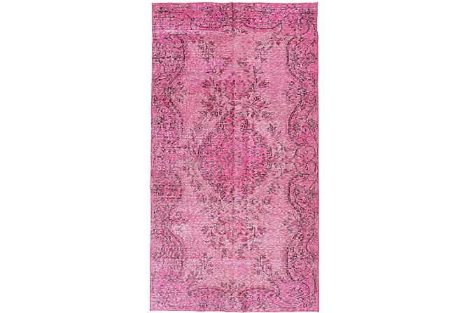 COLORED VINTAGE Patchworkmatta 155x284 Rosa/Lila - Inomhus - Mattor - Patchwork mattor