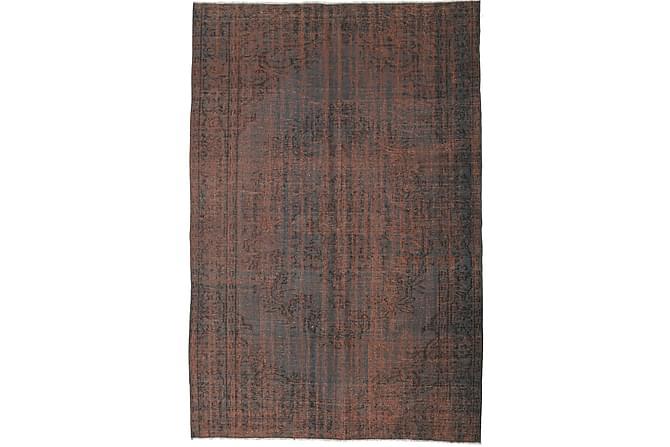 COLORED VINTAGE Patchworkmatta 168x255 Stor Brun - Möbler & Inredning - Mattor - Patchwork mattor