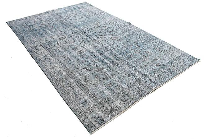COLORED VINTAGE Patchworkmatta 178x269 Stor Grå - Inomhus - Mattor - Patchwork mattor