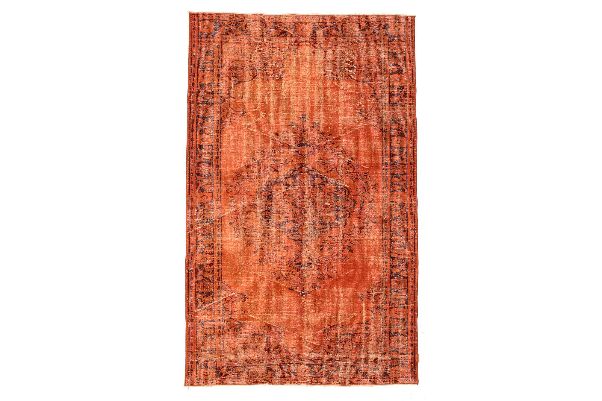 COLORED VINTAGE Patchworkmatta 181×291 Stor Orange