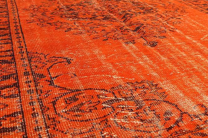 COLORED VINTAGE Patchworkmatta 181x291 Stor Orange - Möbler & Inredning - Mattor - Patchwork mattor